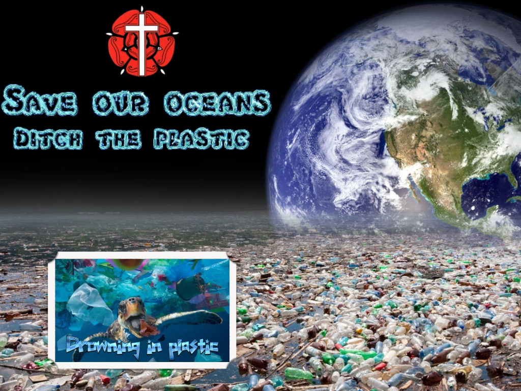 Save the planet Reduce plastic waste